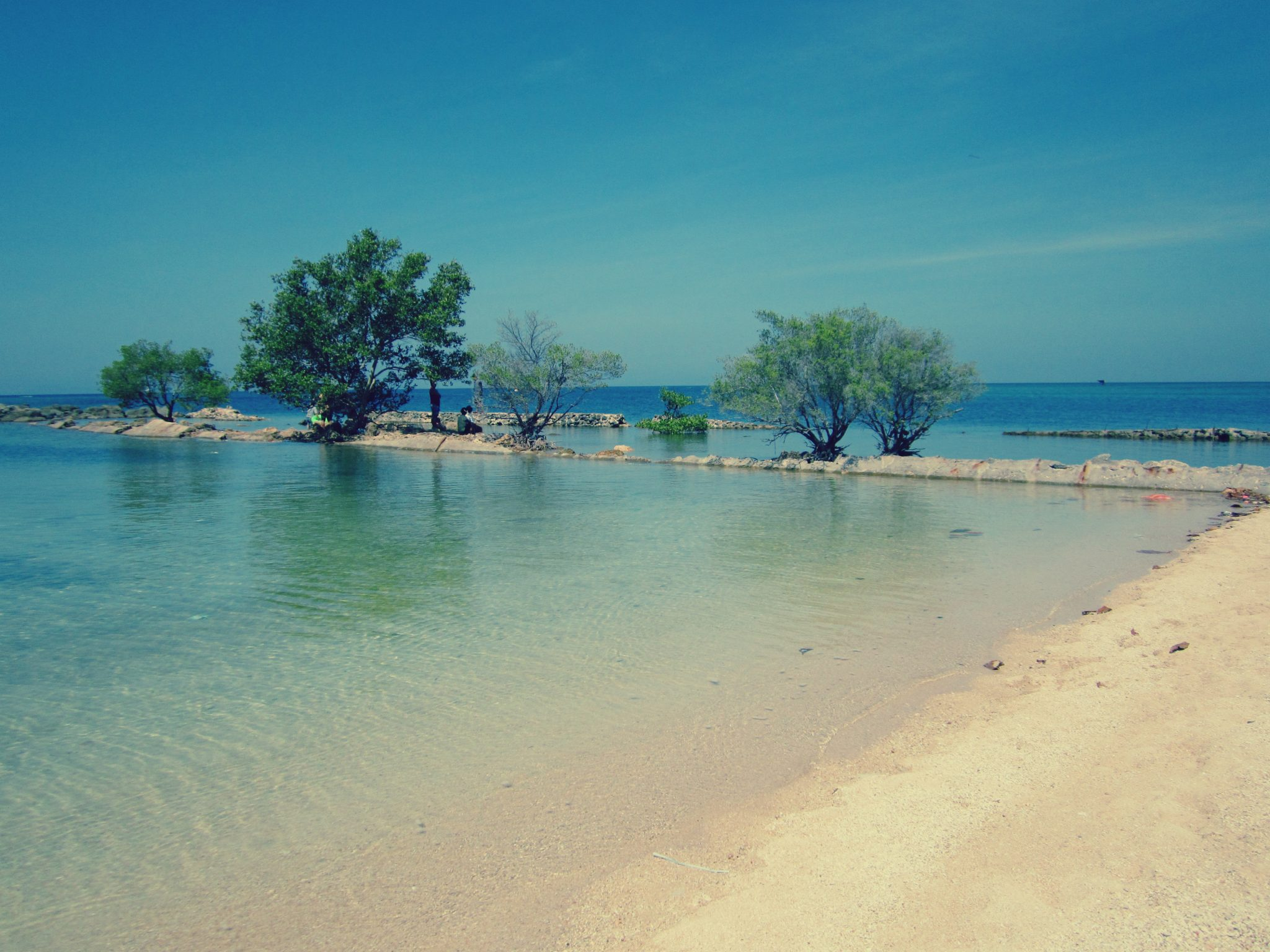 The beach is just small that you can explore it for one day