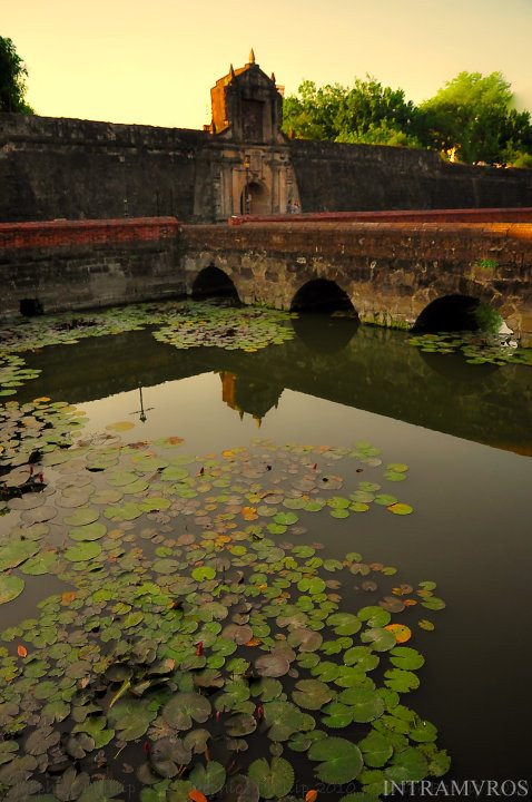 The Fort Santiago: Photo by: Jaephior Pingan