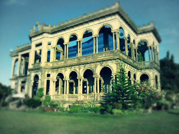 Don Lacson's Mansion. The Ruins.
